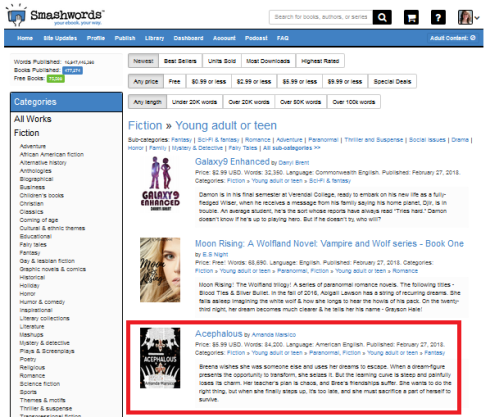Smashwords Ace 1 front page